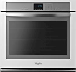 "Whirlpool® 30"" Single 5 cu. ft. Electric Wall Oven with True Convection Cooking"