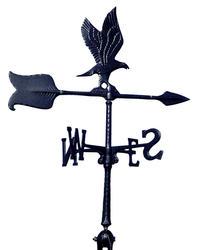 "Whitehall 24"" Black Eagle Accent Weathervane"