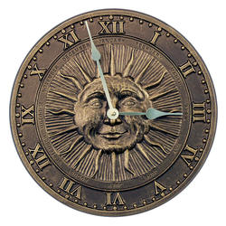 Whitehall French Bronze Surface Clock