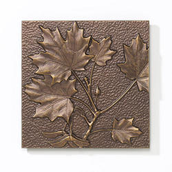 Whitehall Antique Copper Maple Leaf Wall Decor
