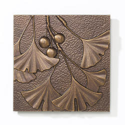Whitehall Antique Copper Gingko Leaf Wall Decor