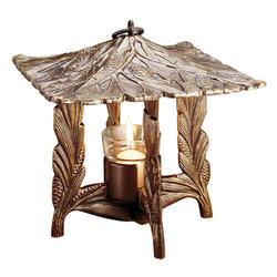 Whitehall French Bronze Pinecone Twilight Lantern