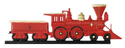 "Whitehall 30"" Rooftop Color Locomotive Weathervane"