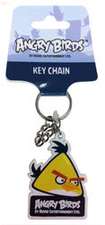 Angry Birds® Rubber Key Ring - Yellow Bird