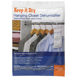 Keep It Dry® Closet Dehumidifier Hanging Packets