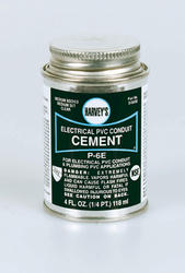 4 oz. PVC Conduit Cement