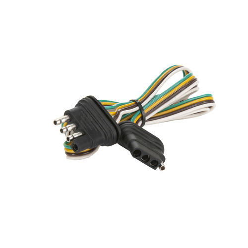 towsmart 4 way flat 60 quot loop trailer wiring connector