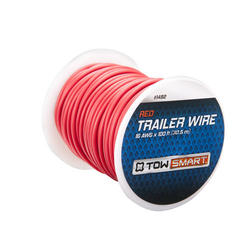 TowSmart 100' x 1mm Red Trailer Wire