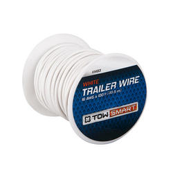 TowSmart 100' x 1mm White Trailer Wire