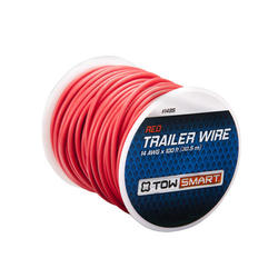 TowSmart 100' x 2mm Red Trailer Wire