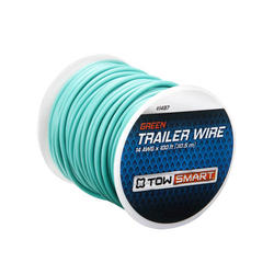 TowSmart 100' x 2mm Green Trailer Wire