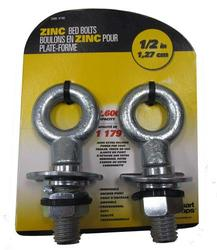 "SmartStraps® 1/2"" Bed Bolt Anchor Points (2-Pack)"