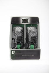 SmartStraps® 10' Green Carbon X Straps