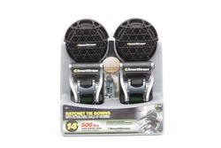 SmartStraps® 14' Ratchet X with Retractable Ball (2-Pack)