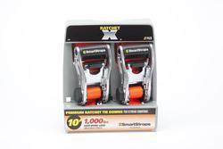 SmartStraps® 10' Orange Ratchet X Straps (2-Pack)