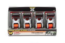 SmartStraps® 14' Ratchet X Straps (4-Pack)