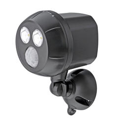 Mr Beams MB390 300-Lumen Weatherproof Wireless Battery Powered LED Ultra Bright Spotlight with Motion Sensor