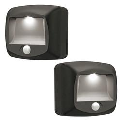 Mr Beams 2 Pack Battery Operated Indoor or Outdoor Motion-Sensing LED Step Light