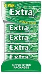 Extra® Spearmint Gum - 4 pk.