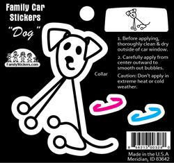 Dog Car Sticker