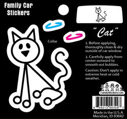Cat Car Sticker