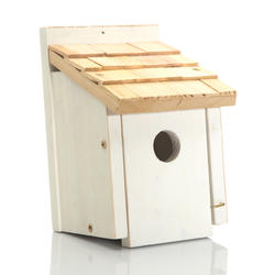Enchanted Garden™ Bird House with Shaker Shingle Roof