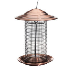Enchanted Garden™ Thistle Feeder with Copper Top Roof