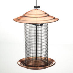Enchanted Garden™ Sunflower Seed Feeder with Copper Top