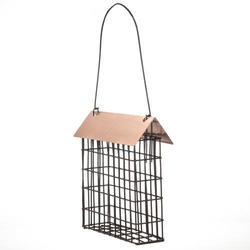Enchanted Garden™ Suet Cage Feeder with Copper Top