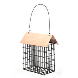 Enchanted Garden™ Double Suet Cage Feeder with Copper Top