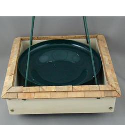 Enchanted Garden™ Platform Feeder with Shaker Shingle Roof