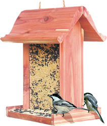 Perky Pet® Wood Station Bird Feeder