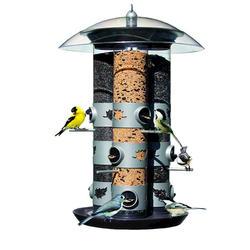Perky Pet® Triple Wild Bird Tube Feeder