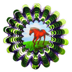 Enchanted Garden™ Horse Wind Spinner