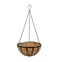 "CobraCo 14"" Flat wire Hanging Basket"