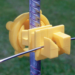 Fi-Shock Round Post Insulator (25 Pieces)