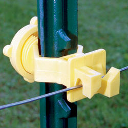 Fi-Shock Screw-On T-Post Insulator (25 Pieces)