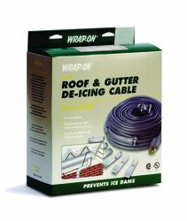 80' Roof and Gutter cable for de-icing gutters and downspouts.