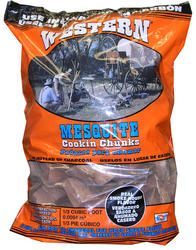 Western® Mesquite Wood Cooking Chunks