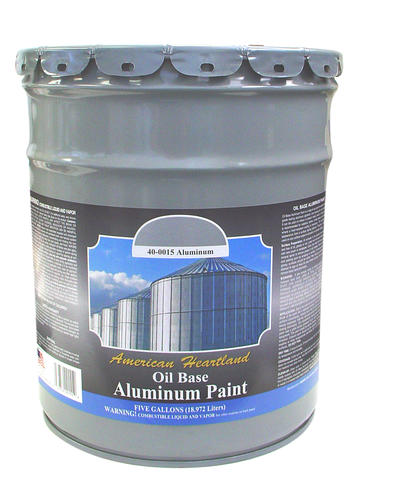American Heartland Oil Based Aluminum Paint 5 Gal At Menards