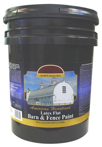 American Heartland Flat Classic Red Latex Barn Amp Fence