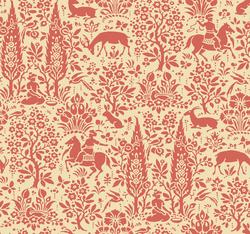 York Wallcoverings Silhouettes Woodland Tapestry Toile Wallpaper