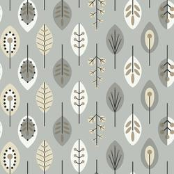 York Wallcoverings Retro Leaves Wallpaper