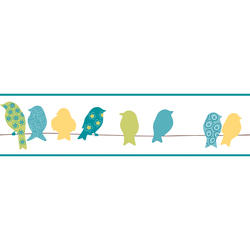 York Wallcoverings Bird On A Wire  Border