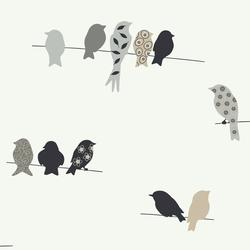 York Wallcoverings Bird On A Wire Wallpaper