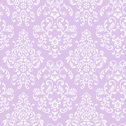 York Wallcoverings Just Kids Delicate Document Damask Wallpaper