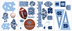 RoomMates University of North Carolina Peel & Stick Wall Decals