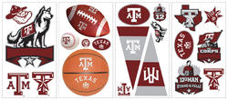RoomMates Texas A & M University Peel & Stick Wall Decals