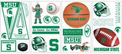 RoomMates Michigan State University Peel & Stick Wall Decals