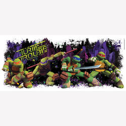 ROOMMATES TMNT Turtle Trouble Graphix Peel & Stick Wall Decals